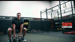 Firefighter Fit Workout - 3 Lift + Carry Exercises