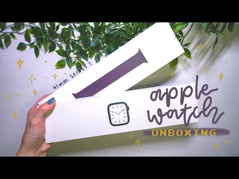 Apple Watch Series 7 UNBOXING! | 41mm MIDNIGHT