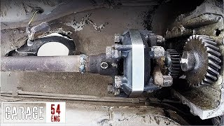 Welding the prop-shaft to the motor and driving without a gearbox