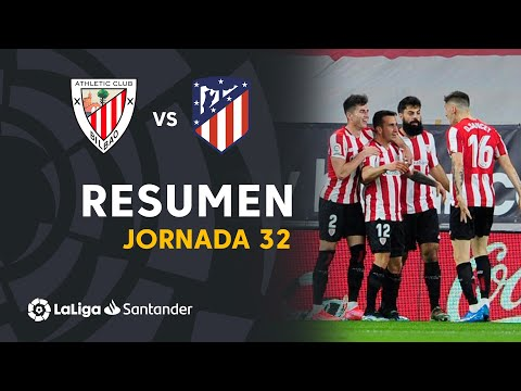 ⚽ LABURPENA I Athletic Club 2-1 Atlético Madrid I LaLiga Matchday 32