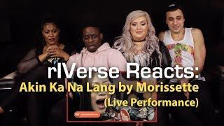 rIVerse Reacts: Akin Ka Na Lang by Morissette - LIVE (on Wish 107.5 Bus) Reaction
