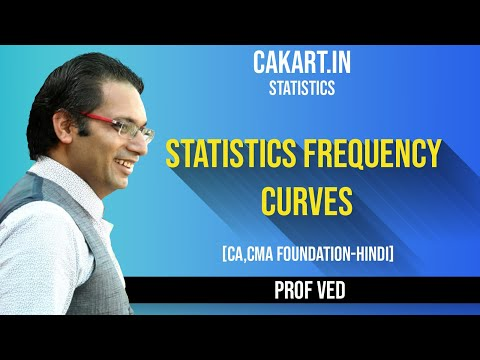 Statistics Frequency Curves, Statistics  Lecture By Prof Ved