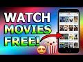 How to watch online movies for free on iphone || (2017)