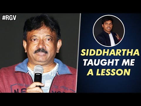 RGV Awestruck by Director Siddhartha | RGV Compares Bhairava Geetha to Nagarjuna's Shiva
