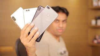 Mid Range Smartphone Comparison Xiaomi Redmi Note 5 Pro, Zenfone Max Pro, Huawei Honor 7x & Huawei Honor 9 Lite