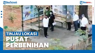 Jokowi Tinjau Lokasi Pembangunan Pusat Perbenihan di Rumpin Bogor