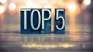 Top 5 - 2016