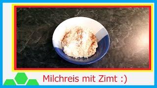 Schnellen Milchreis in der Mikrowelle selber machen - Kochkurs (8K - 4320p)