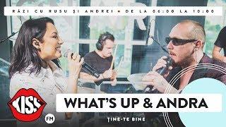 What's Up & Andra   Ține Te Bine (Live @ Kiss FM)