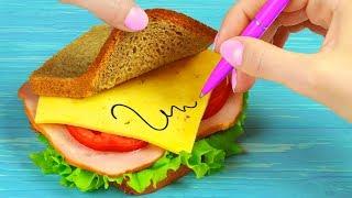 11 Weird Ways To Sneak Food Into Class / School Pranks