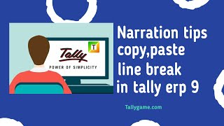 Tally TDL for Increase Item Name, Ledger Name and Narration