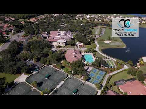 The Club at the Strand Naples FL Community Real Estate Homes & Condos Aerial