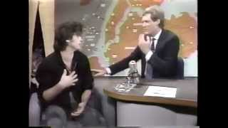 "John Mellencamp 1985 Late Night TV ""Small Town,"" ""Pink Houses"" and Interview"