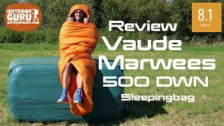Vaude Marwees 500 DWN RECYCLED DOWN SLEEPING BAG REVIEW
