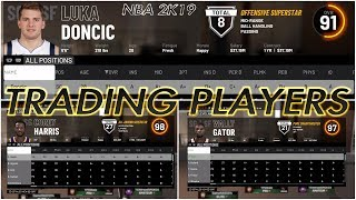 NBA 2K19 | TRADING FOR PLAYERS IN MY CAREER | HOW TO MAKE THE RGHT TRADES