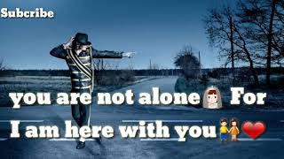 NEW WHAT'S UP STATUS VIDEO ||YOU ARE NOT ALONE||