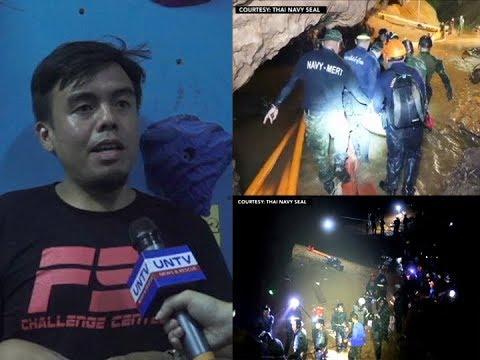 [UNTV]  Pinoy rescuer na kasama sa pag-rescue sa soccer team sa kweba sa Thailand, ibinahagi ang karanasan