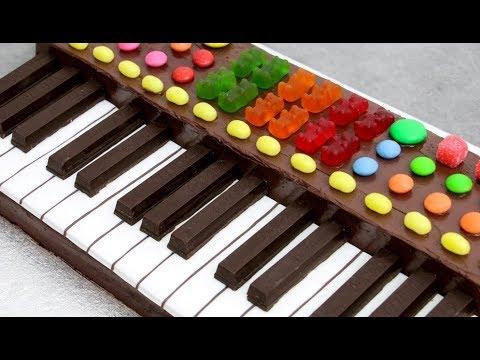 How to make a Chocolate Keyboard Cake | Amazing Birthday Cake Idea