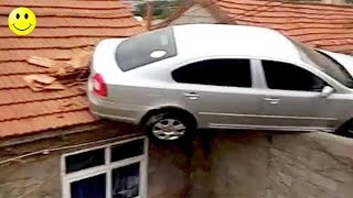 Ultimate Funny Car Fails & Funny Driving Accidents Compilation