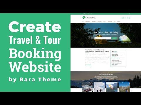 , title : 'Travel Agency WordPress Theme Customization Tutorial | How to Make Travel & Tour Booking Website