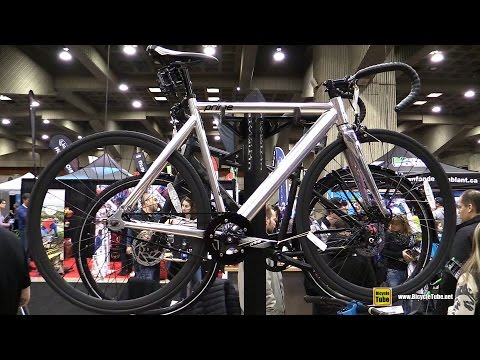 2016 Fixie Prime Chrome Bike – Walkaround – 2016 Salon Velo Montreal