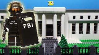 Lego SWAT – Central Bank Robbery Fail / FBI SWAT