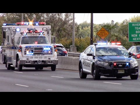 Police Cars Fire Trucks And Ambulances Responding Compilation Part 12