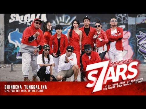 NAGASWARA 7 STARS Rilis Bhinneka Tunggal Ika Serentak Di Radio