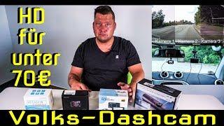 Praxistest | Ich suche die beste HD Dashcam (Autokamera) für das Volk! | unter 70€ | Teil 1/2