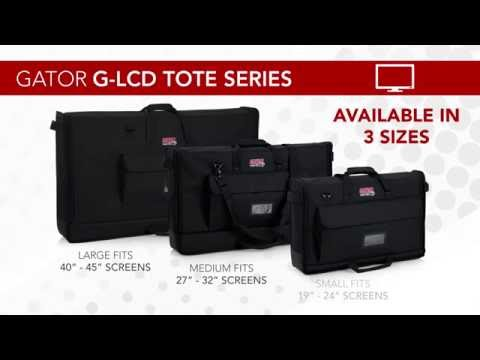 Lightweight LCD Tote Bags from Gator Cases