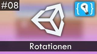 Unity Tutorial Deutsch / German #8 - Rotationen