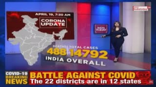 breaking news coronavirus latest update 14792 covid 19 cases in india death toll rises to 488