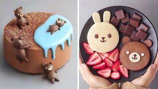10 Beautifully Easy Cake Decorating Ideas   Amazing Animal Cake Compilation   So Yummy Cake Recipes
