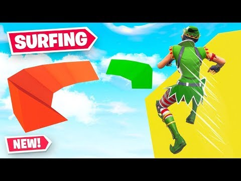 The *FIRST* SURF MAP In Fortnite!