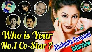Who is Your Top-5 Co-Star? Vivek, Amit, Gunjan, Siddhant or Tinku ? Alishmita Goswami interview 😊