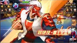 Quyền vương 98:Team Rùa tư chất 15 kiểu mới với Nameless vừa trâu vừa dame Hạt nhân Mr.Karate Tengu