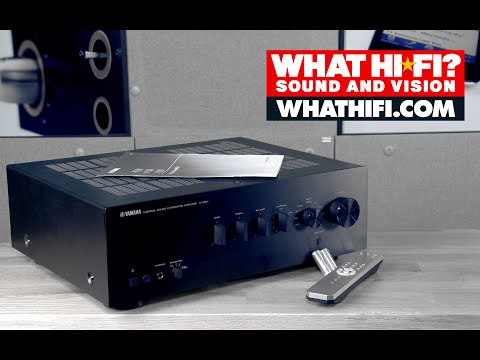 Yamaha A-S501 stereo amplifier – unboxing video
