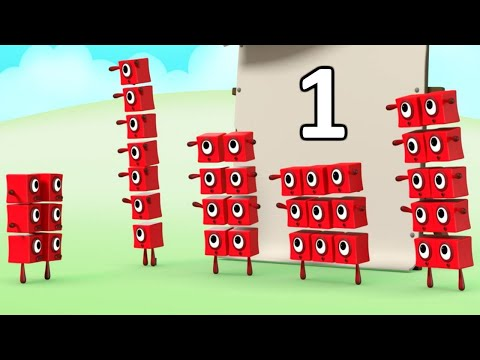 Numberblocks NEW Episodes! Learn to count! Blocks have fun with friends!
