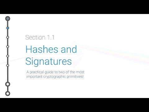 Cryptoeconomics - 1.1 - Hashes and Signatures