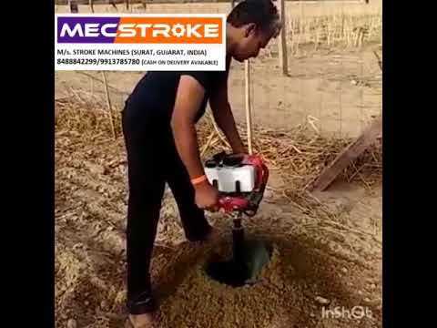 Mecstroke Heavy Duty 52CC Petrol Post Hole Digger