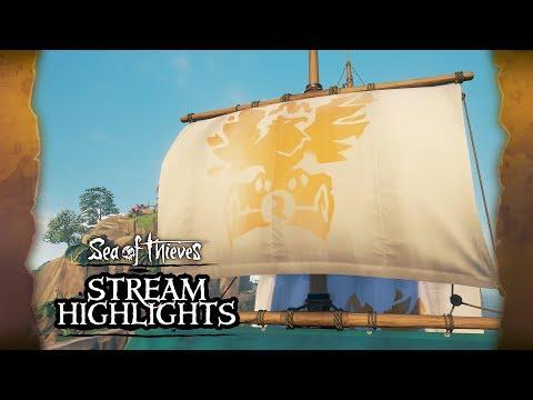 Sea of Thieves Weekly Stream Highlights: Creator Crew