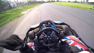 preview picture of video 'GoPro: GoKarting at Surbiton Raceway'