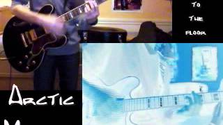 Arctic Monkeys - Stickin' to the floor, two-guitar cover