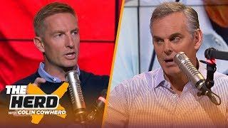 Joel Klatt explains why 2 SEC teams may end up in the playoffs, talks Joe Burrow | CFB | THE HERD