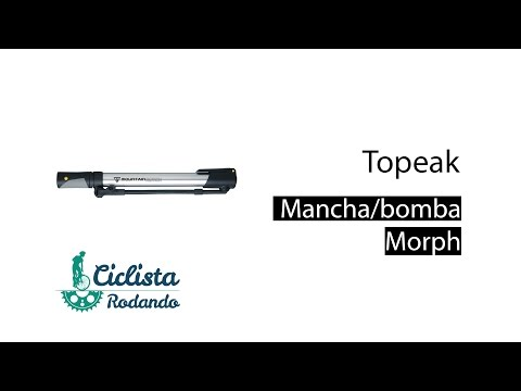 Видео о Насос Topeak MOUNTAIN MORPH TMP-2