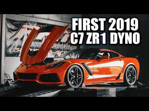 First 2019 C7 Corvette ZR1 Dyno Video