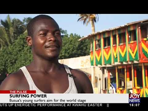 Surfing Power - The Pulse on JoyNews (3-4-18)