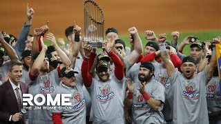 The Nationals Are The Toughest Team In Sports! | The Jim Rome Show
