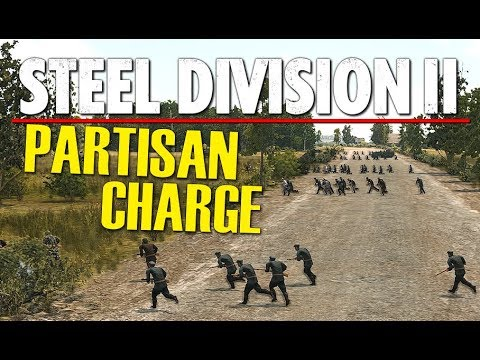PARTISAN CHARGE! Steel Division 2 Beta Conquest Gameplay (Vitebsk, 4v4)