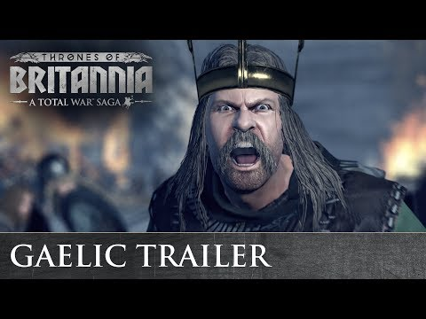 Total War: THRONES OF BRITANNIA - Gaelic Cinematic Trailer thumbnail